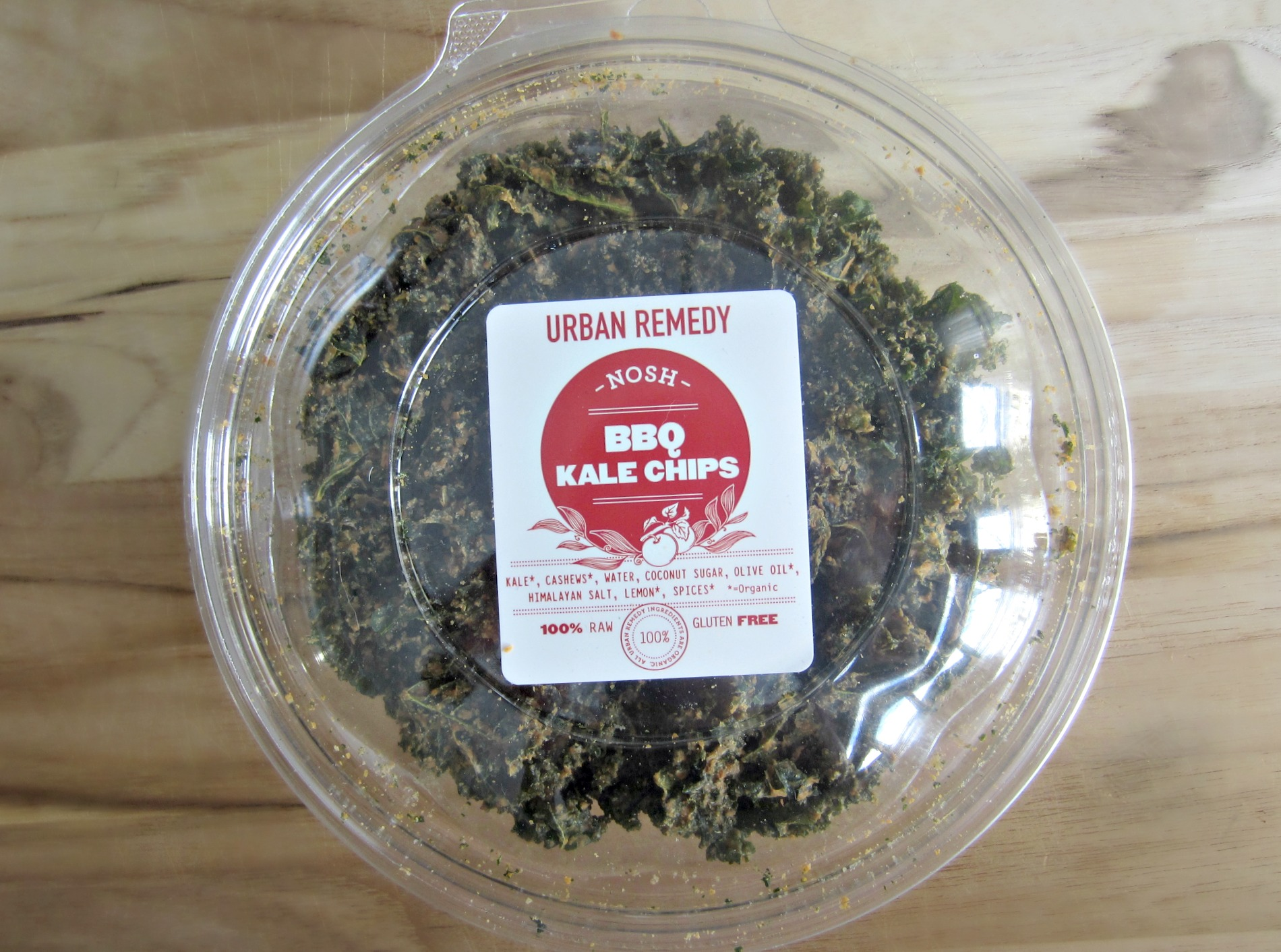 organic raw kale chips