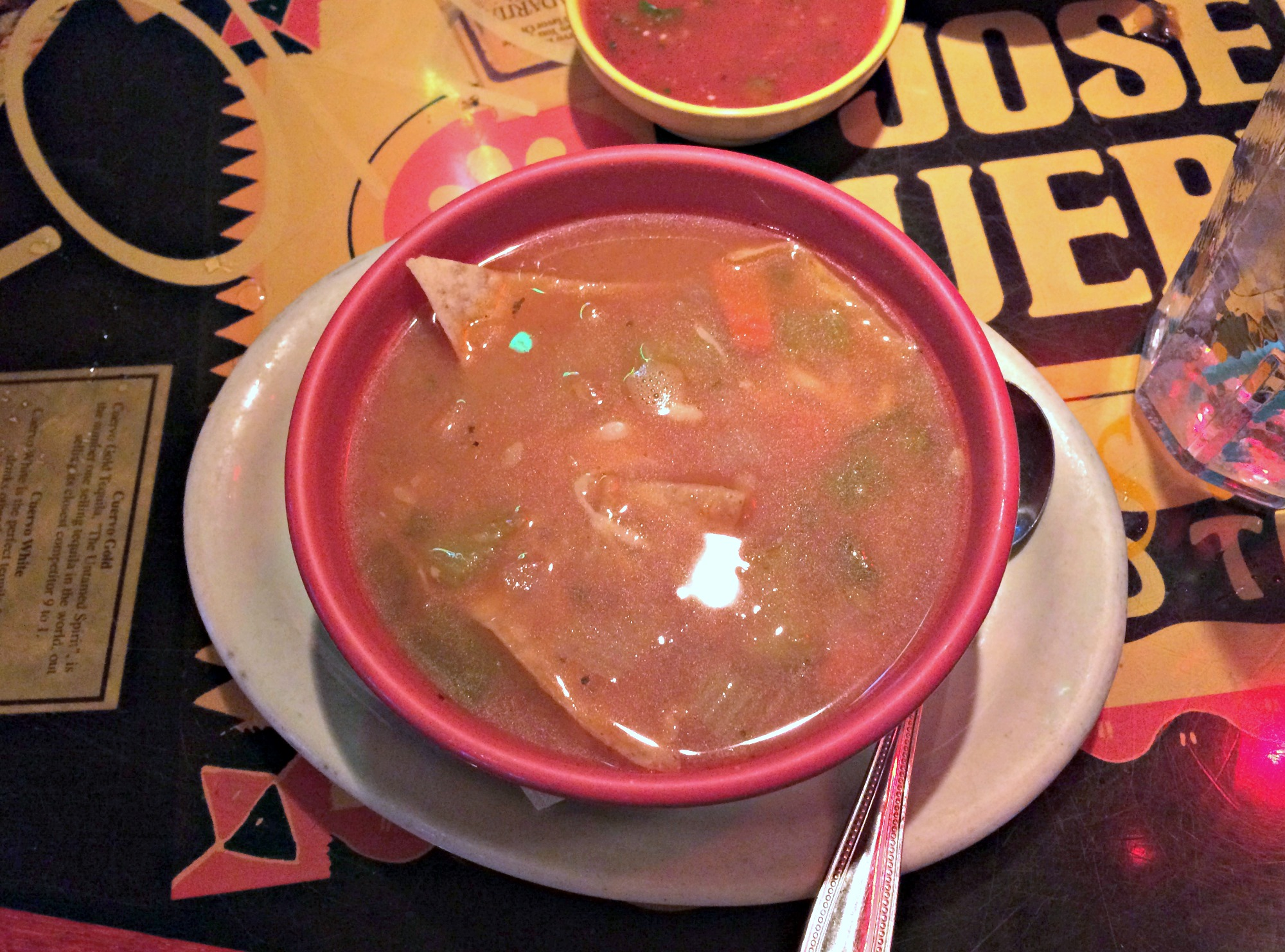 sagebrush cantina chicken rice soup