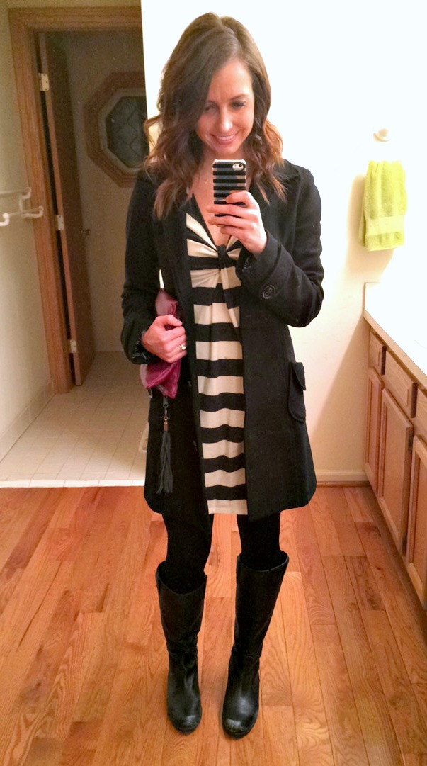 sweater dress fashion winter