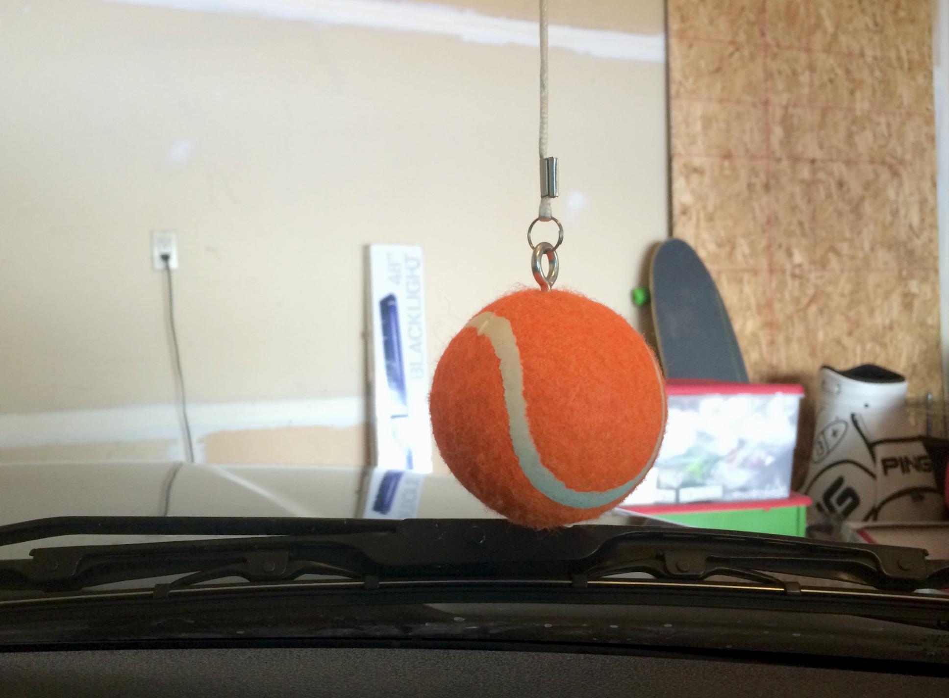 tennis ball parking guide