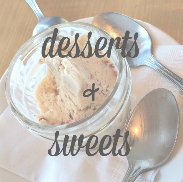 desserts & sweets recipes