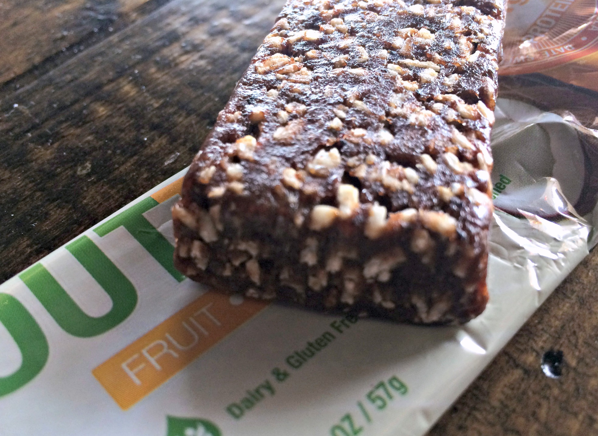 natural fruit and nut bars