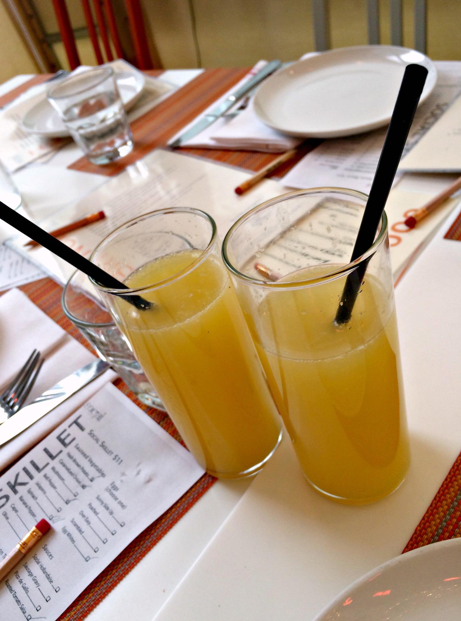 social mango mimosas