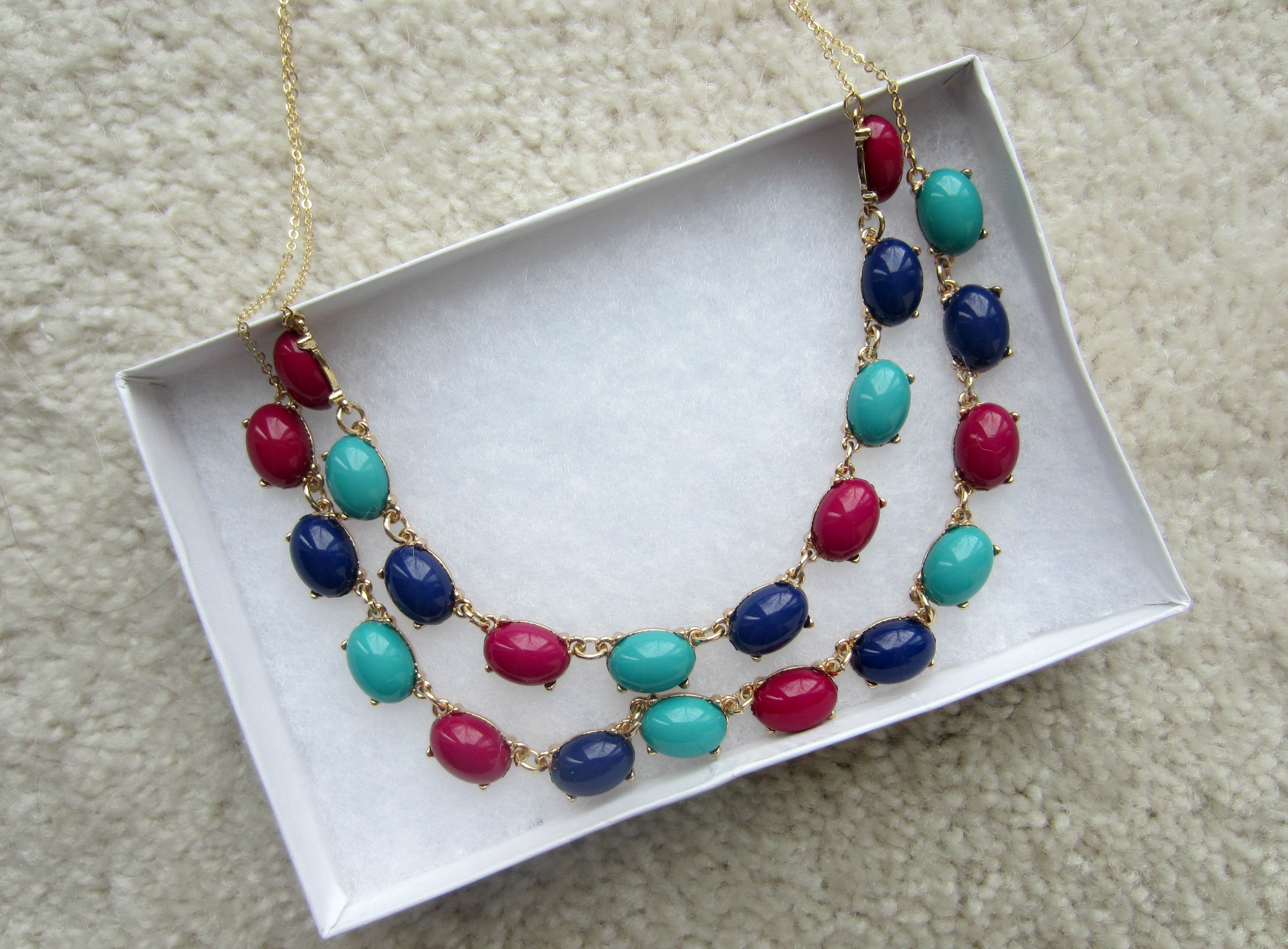 stitch fix bay to baubles layered gem necklace