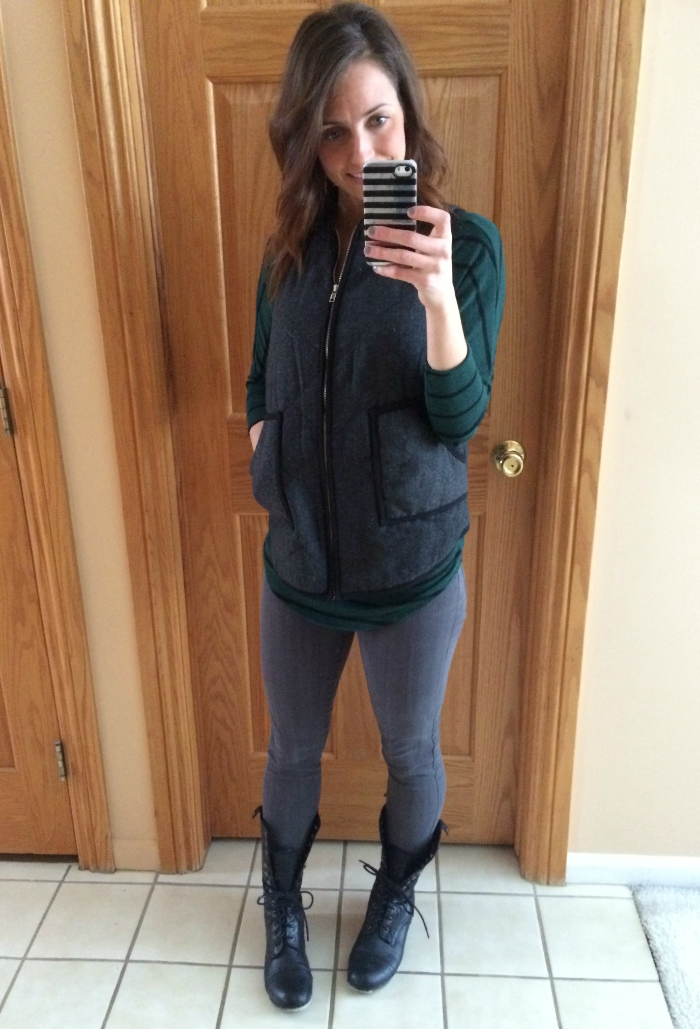 stitch fix herringbone vest
