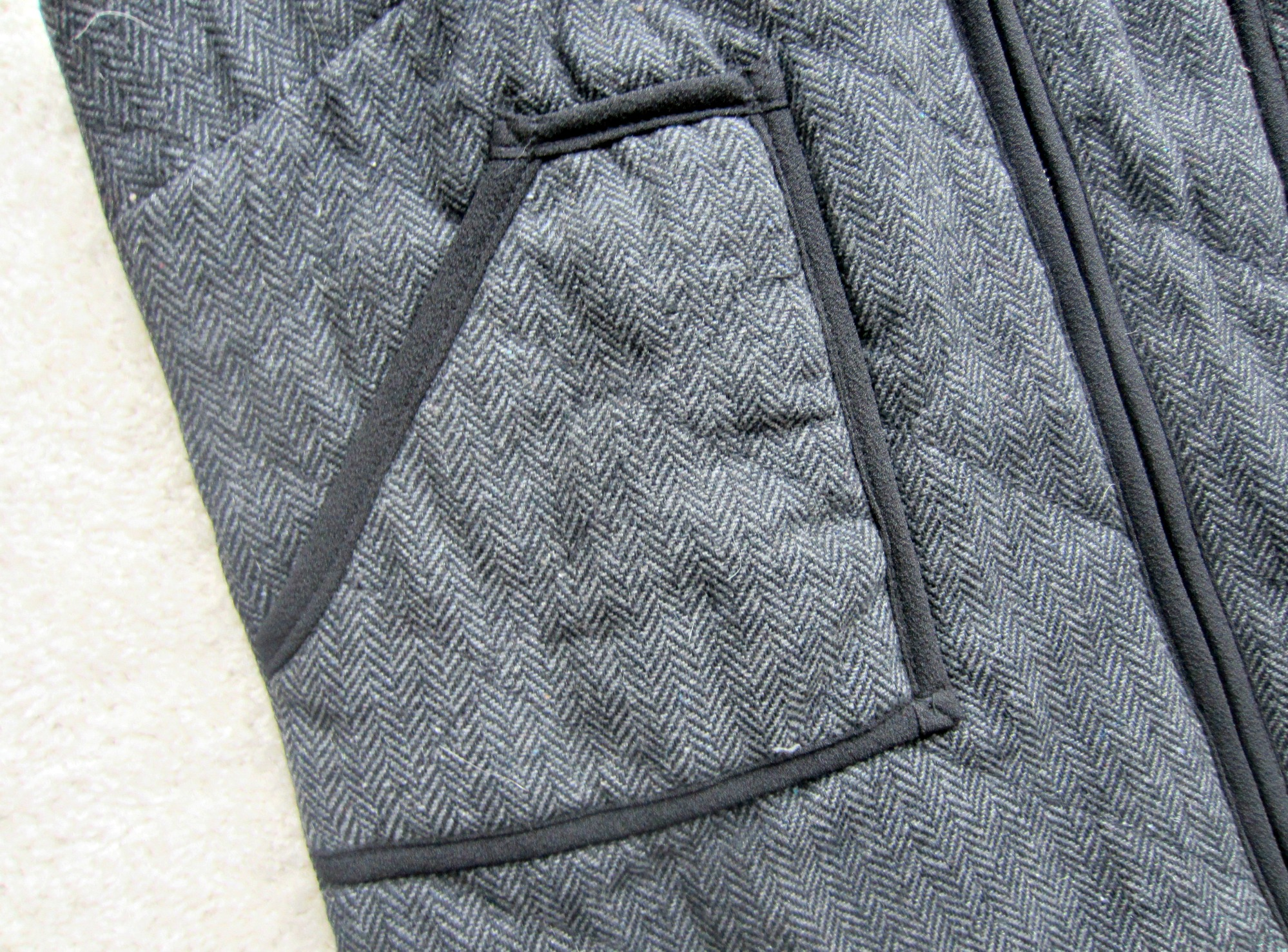stitch fix vest close up