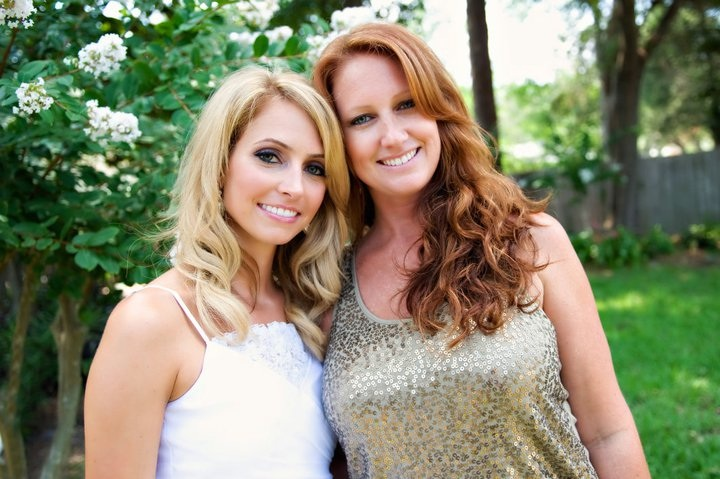 Me and my Maid of Honor at Bridal Shower