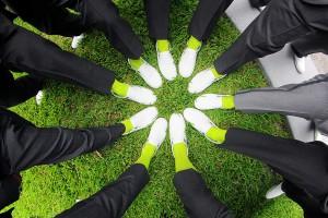 Groomsmen colorful socks
