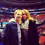 Philadelphia 76ers game me and scott