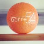 Barre54 ball and logo