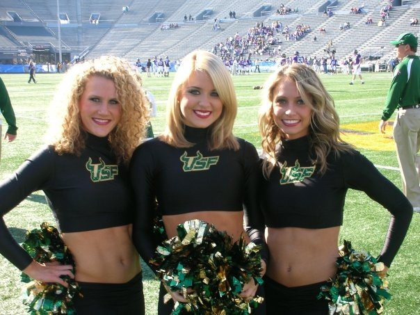 Dancing for USF, 2007