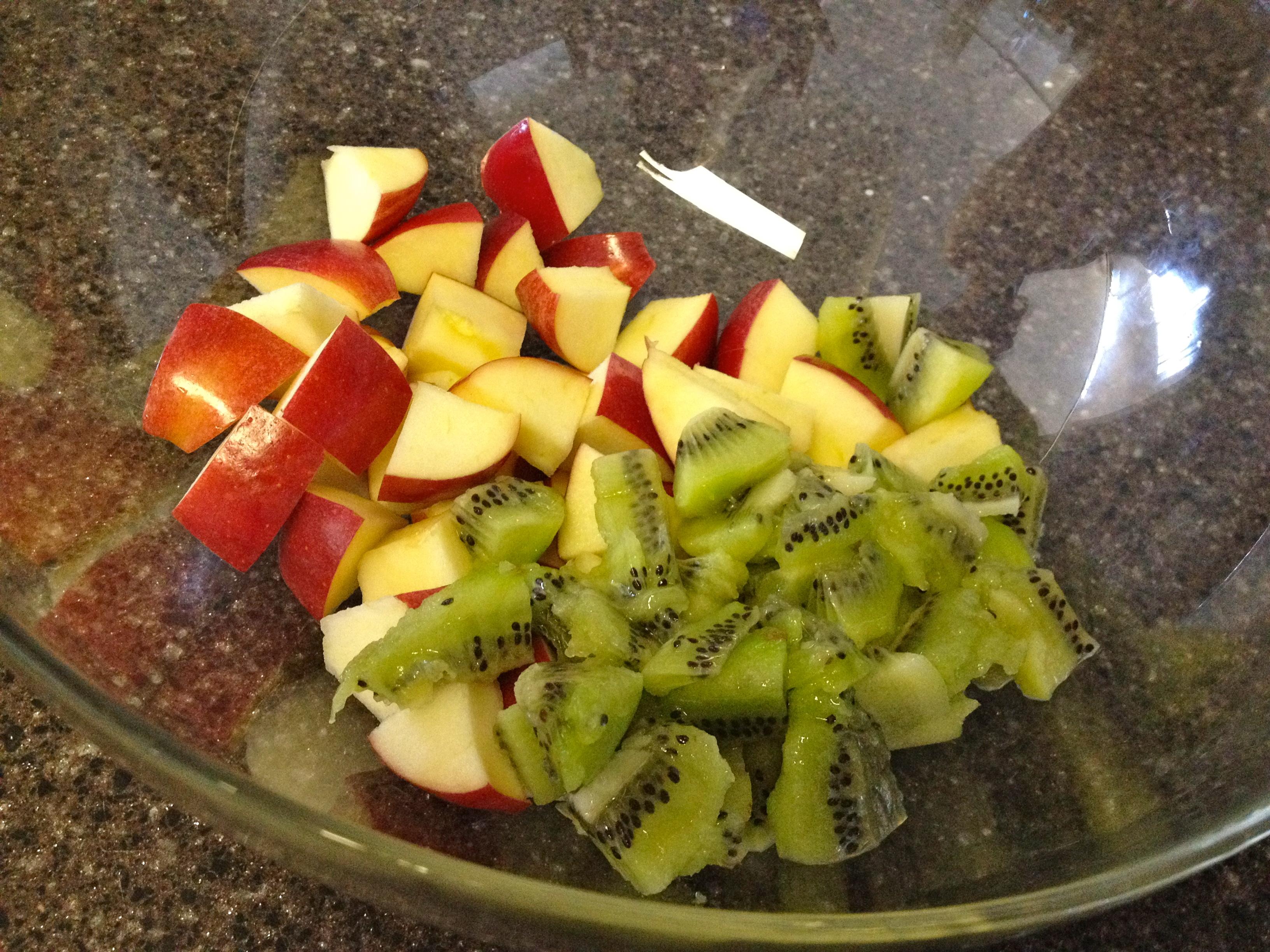 Mint Berry Fruit Salad fruit