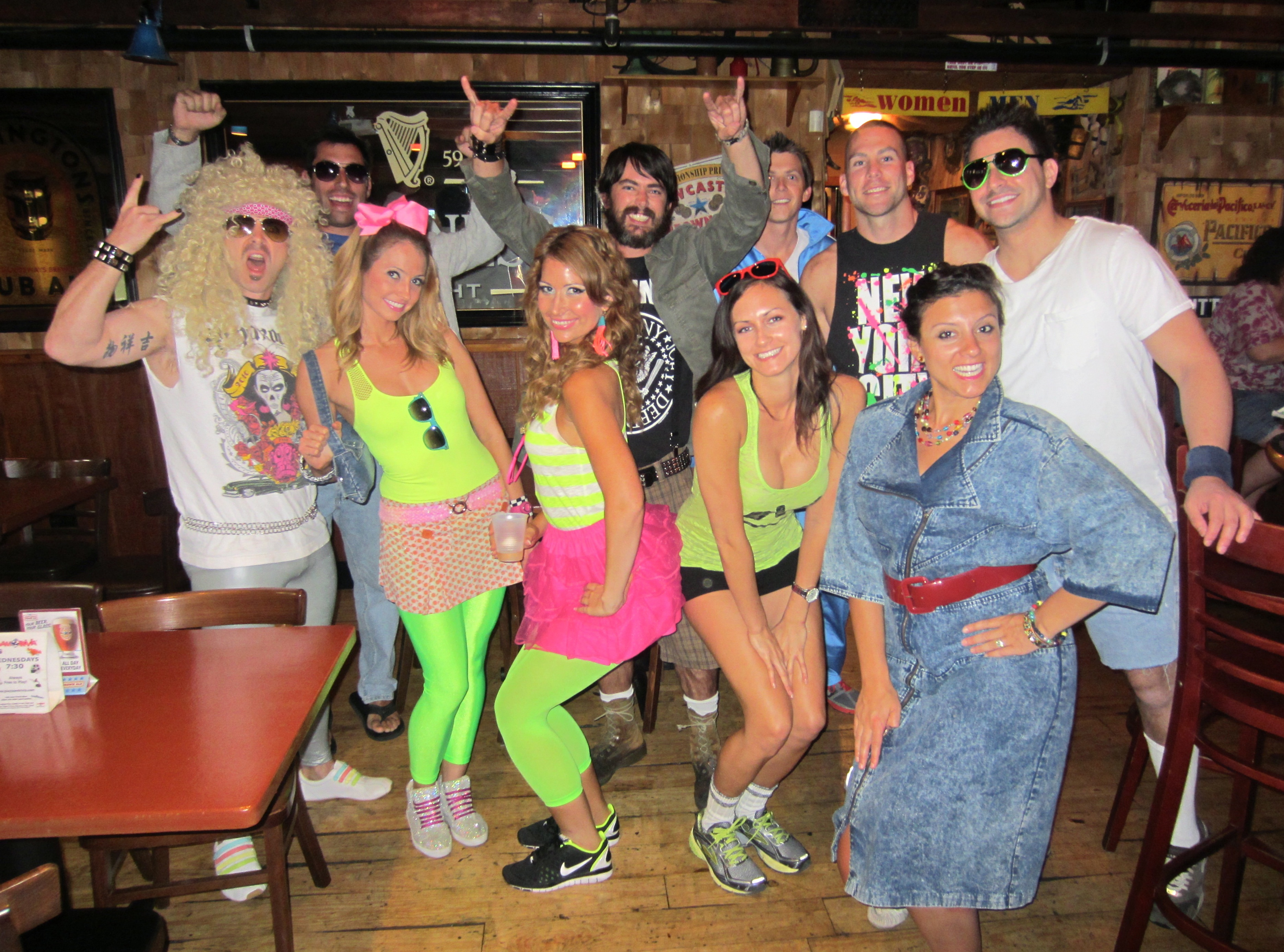 Adult musician costumes for birthday party