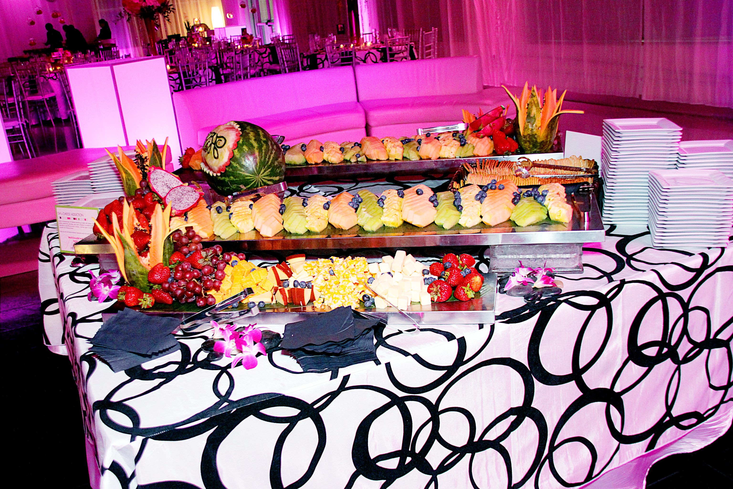 Wedding Fruit Display Millenia Catering