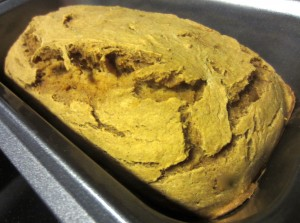 Freshly Baked Banana Pumpkin Bread