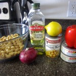 ingredients for healthy chicken salad