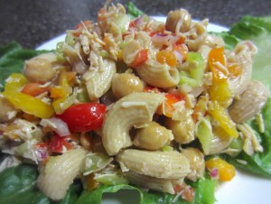 Healthy Chicken Salad with Peppers