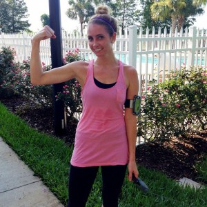 Running outside #FitFluential