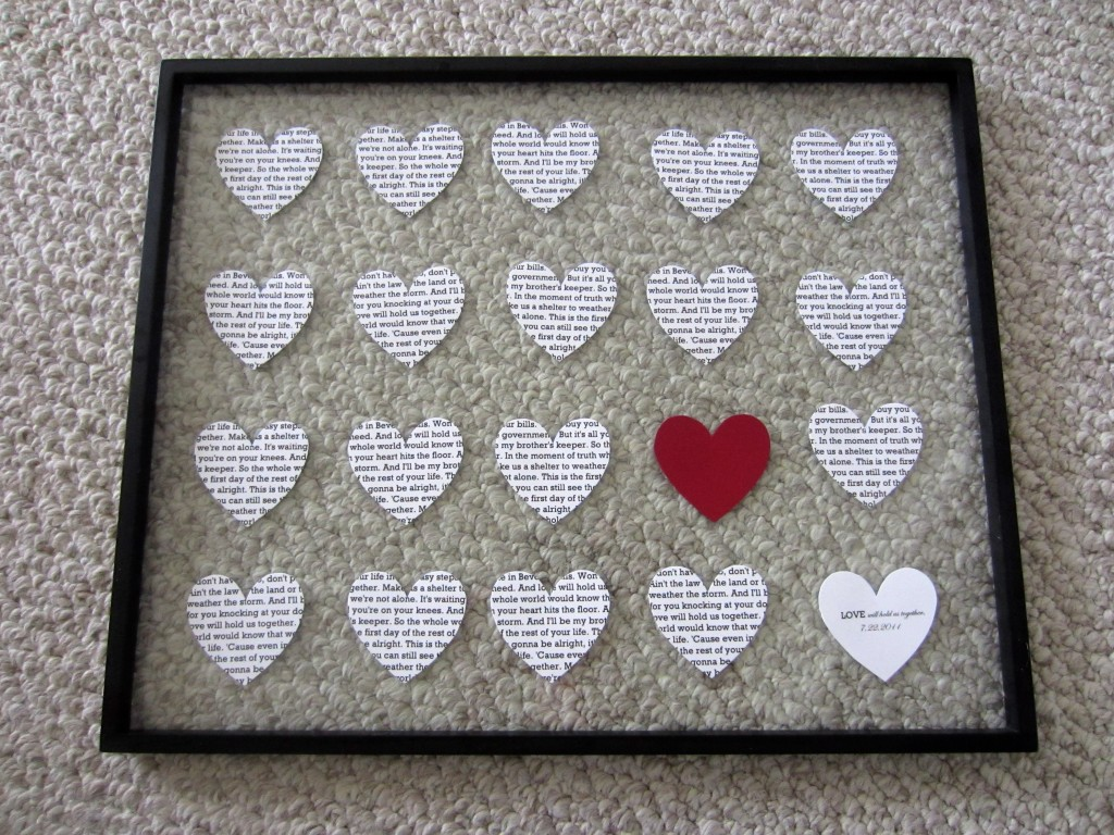 Ideas Handmade Wedding Gifts For Couple diy wedding anniversary gift ...