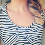fashion stripes and bow