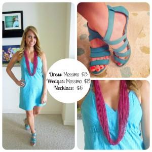 Blue Target Dress Fashion on a Budget