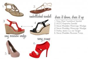 Dress it Down, Dress it Up Shoes