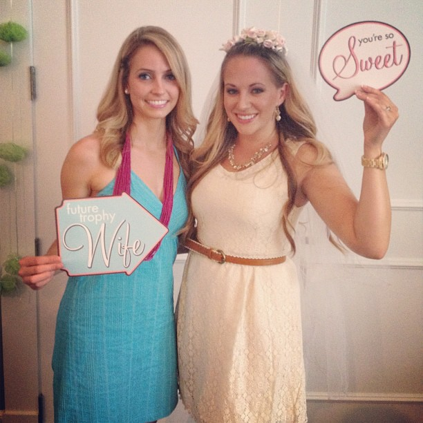 funny bridal shower photo