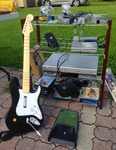 Garage Sale Playstation Guitar