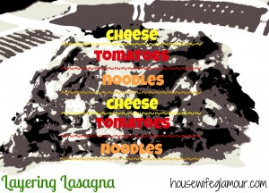 How To Layer Lasagna