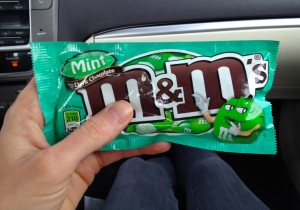 Mint Chocloate M&Ms