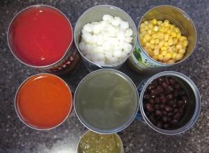 Soup ingredients