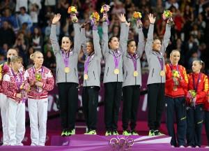 USA women's gymnastics olympics 2012