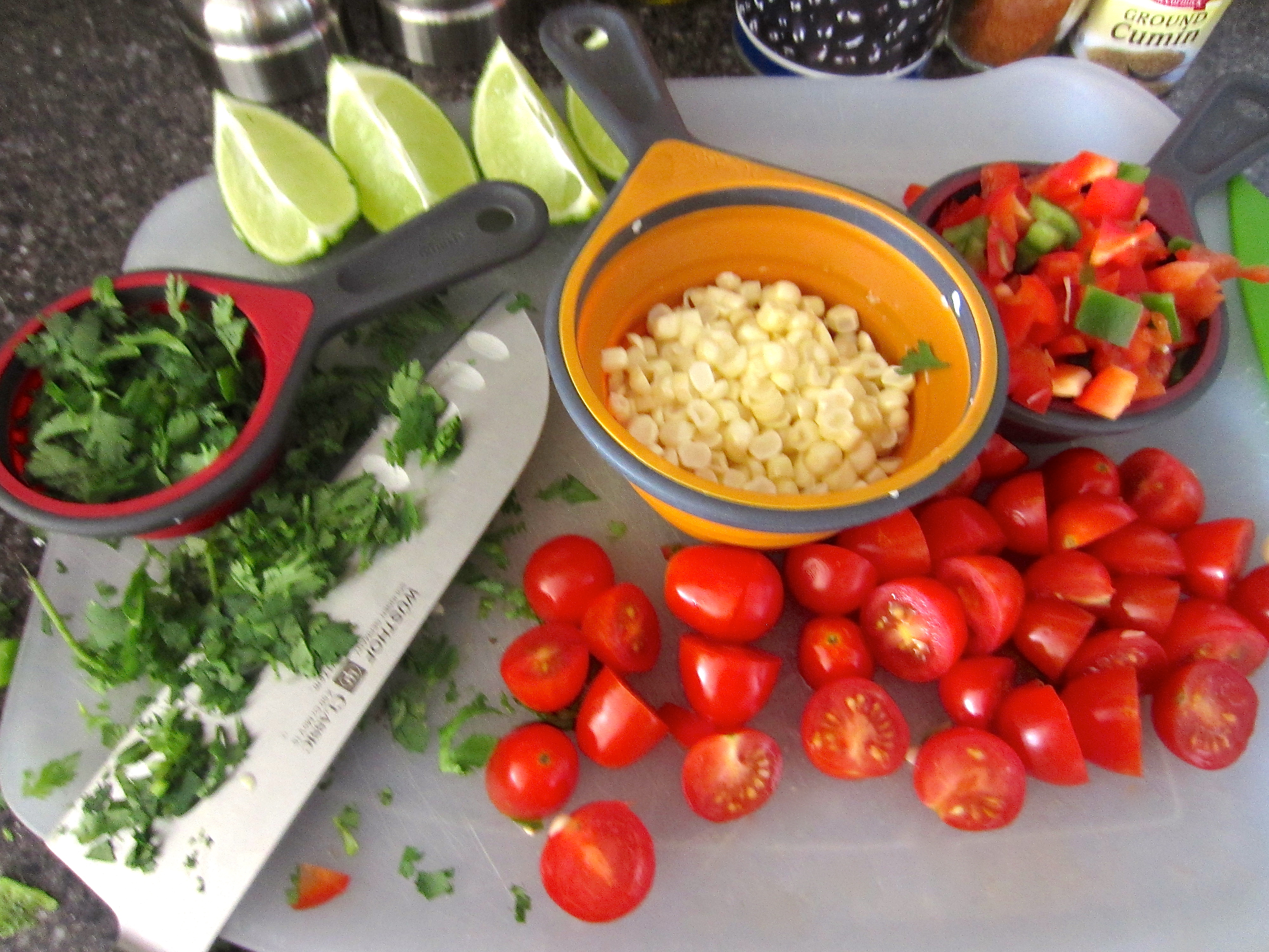 Black Bean Quinoa Ingredients