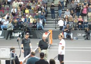 Tennis Legends Championship Classic Courier vs Sampras