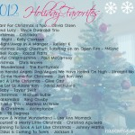 2012 Holiday Favorites Playlist