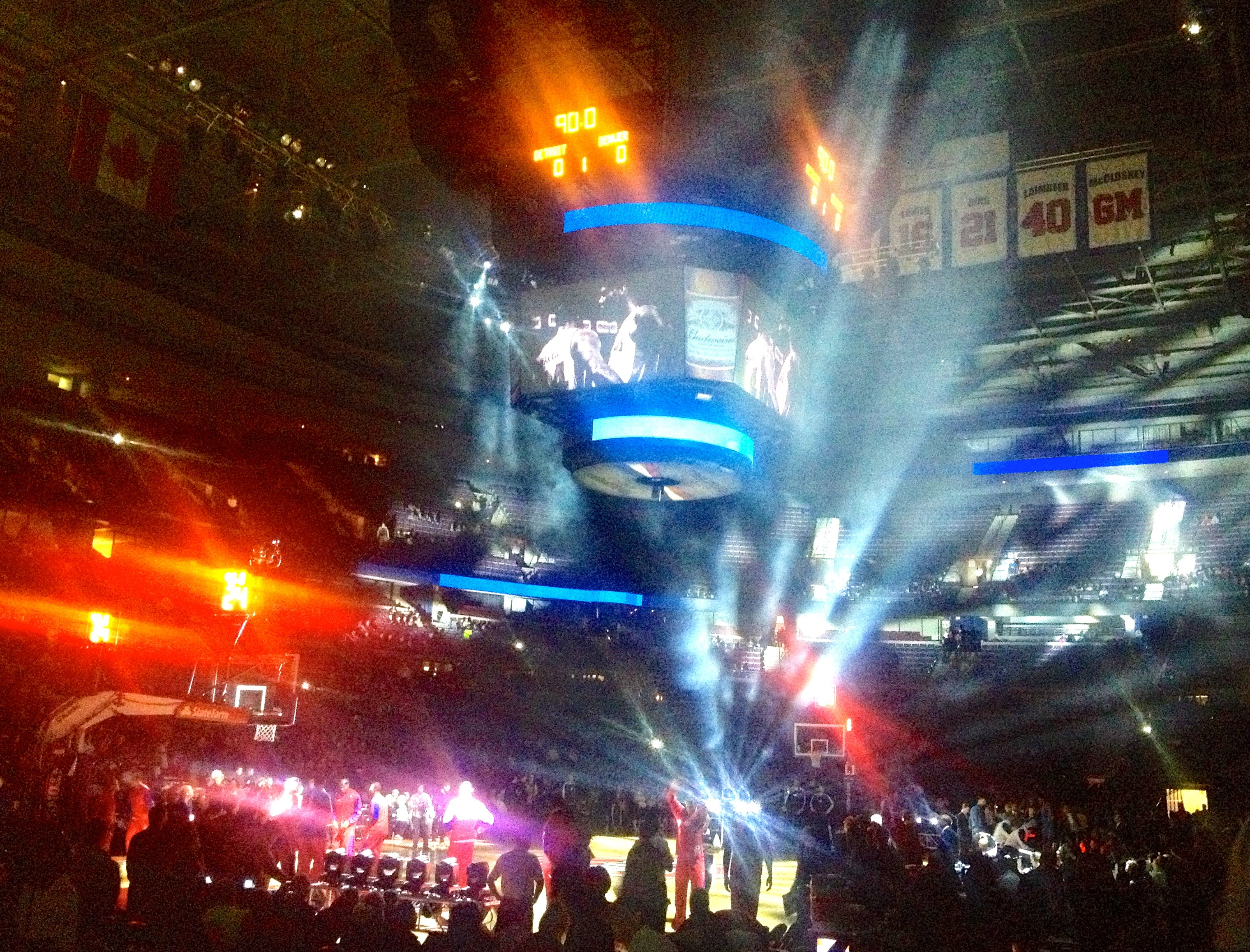 detroit pistons home game