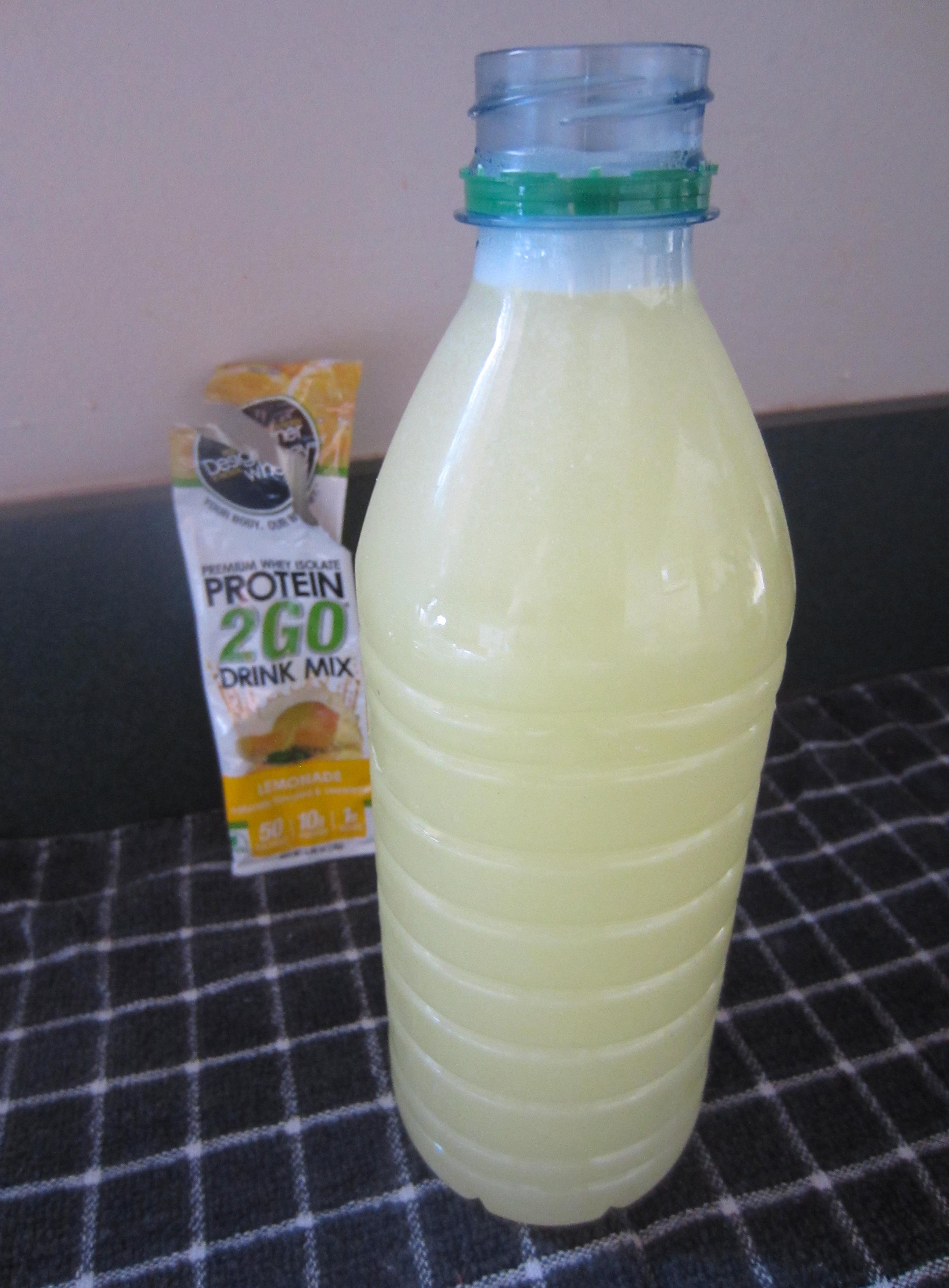 Designer Whey lemon protein 2Go
