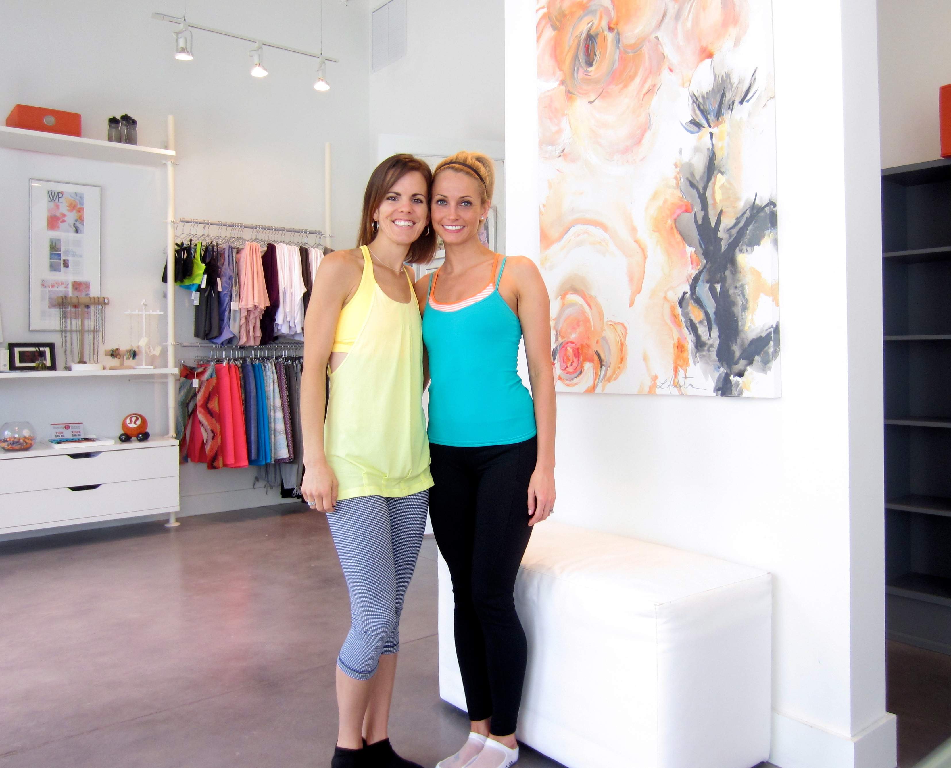 barre 54 Amanda + Heather