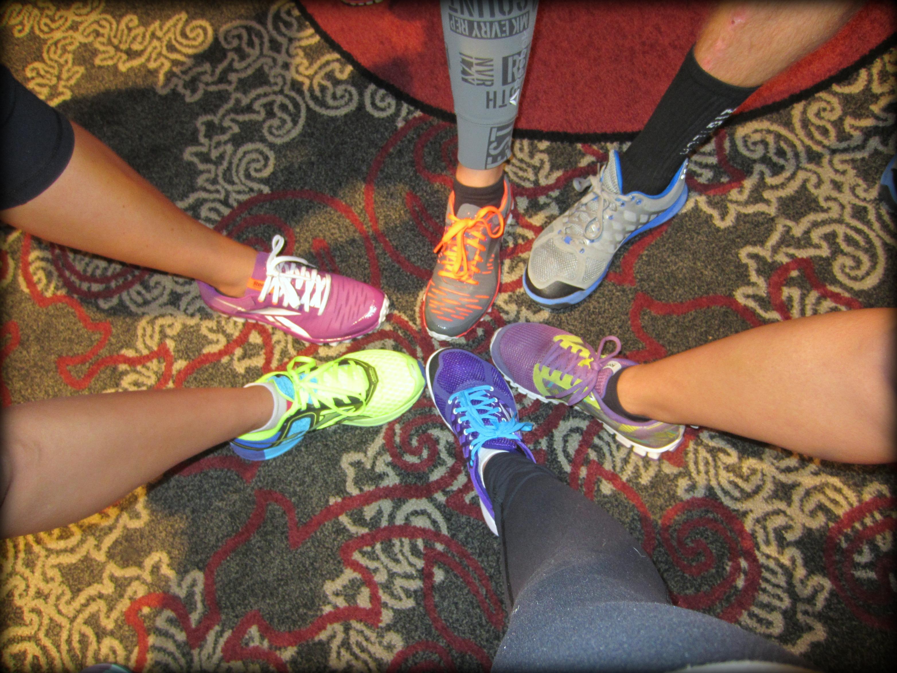 Reebok shoes at FitBloggin 13