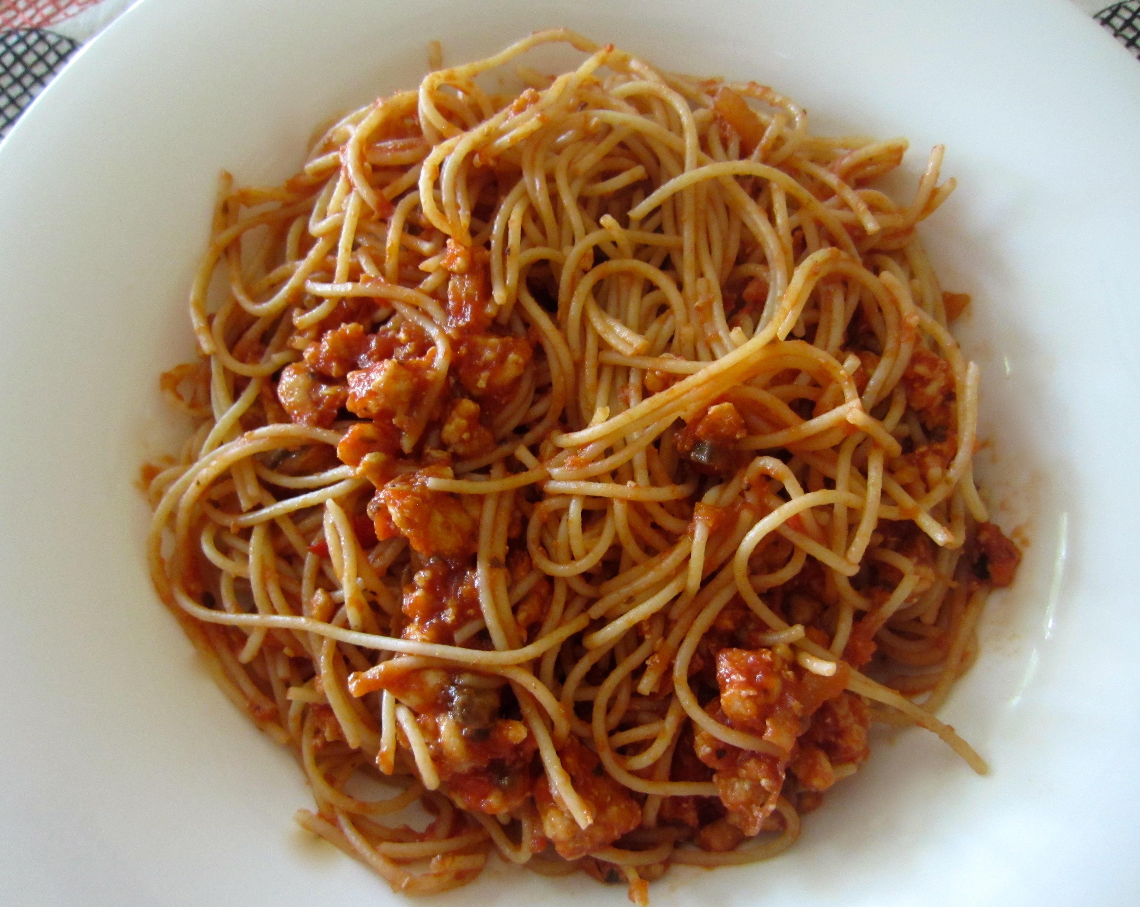 skinny turkey sausage pasta