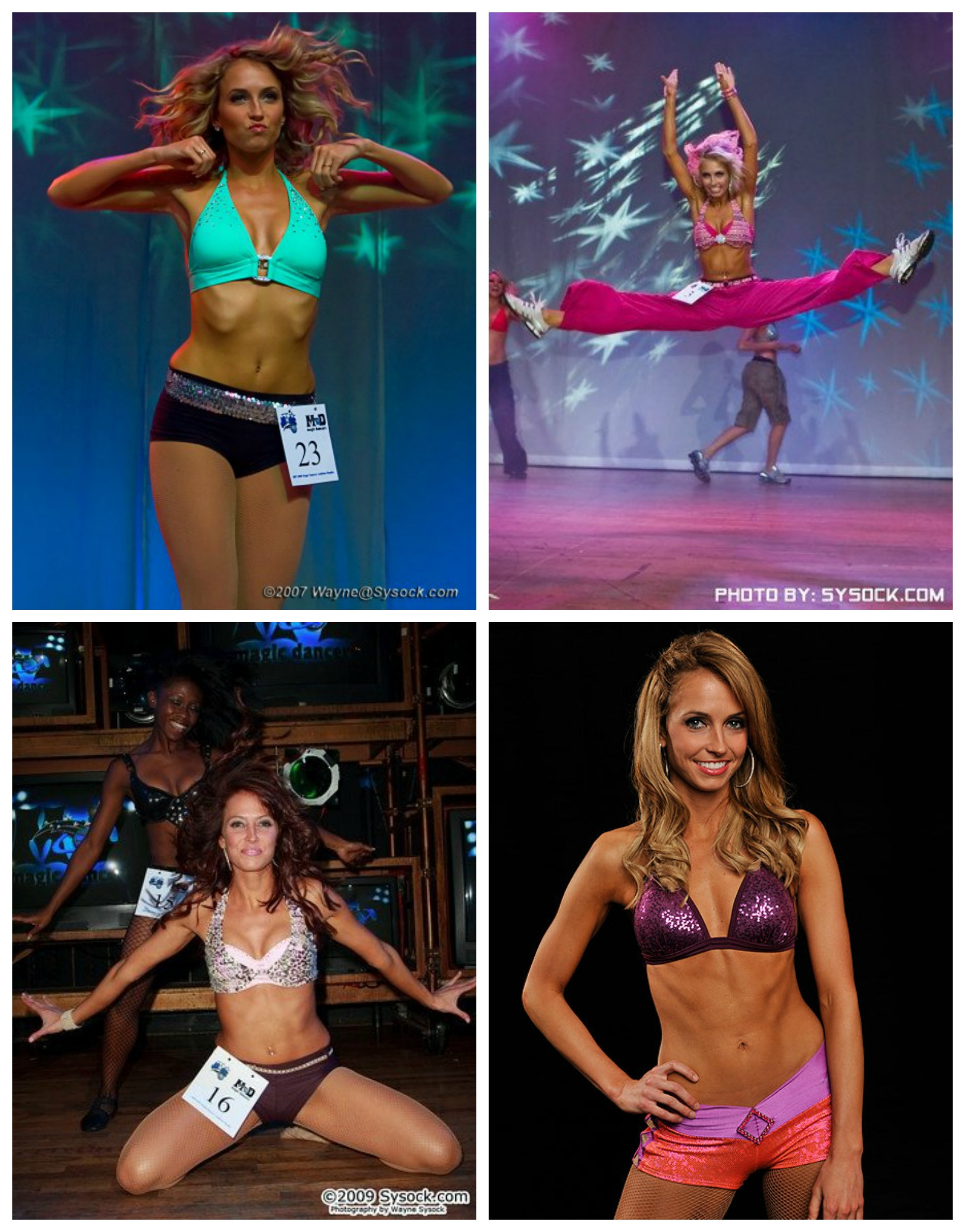 Heather Magic Auditions through the years