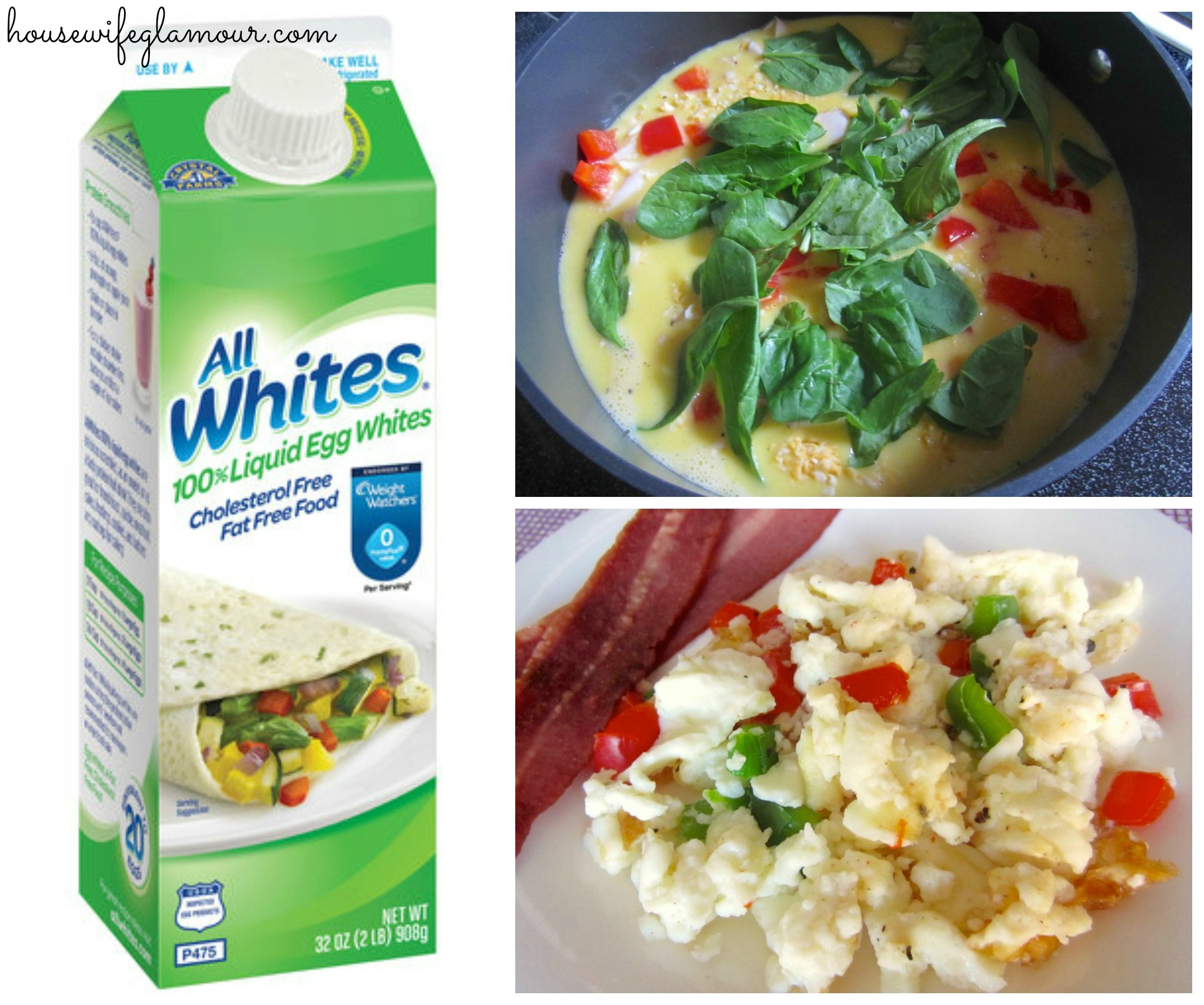 egg whites and egg beaters