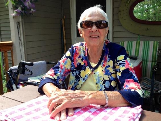 grandma on her birthday