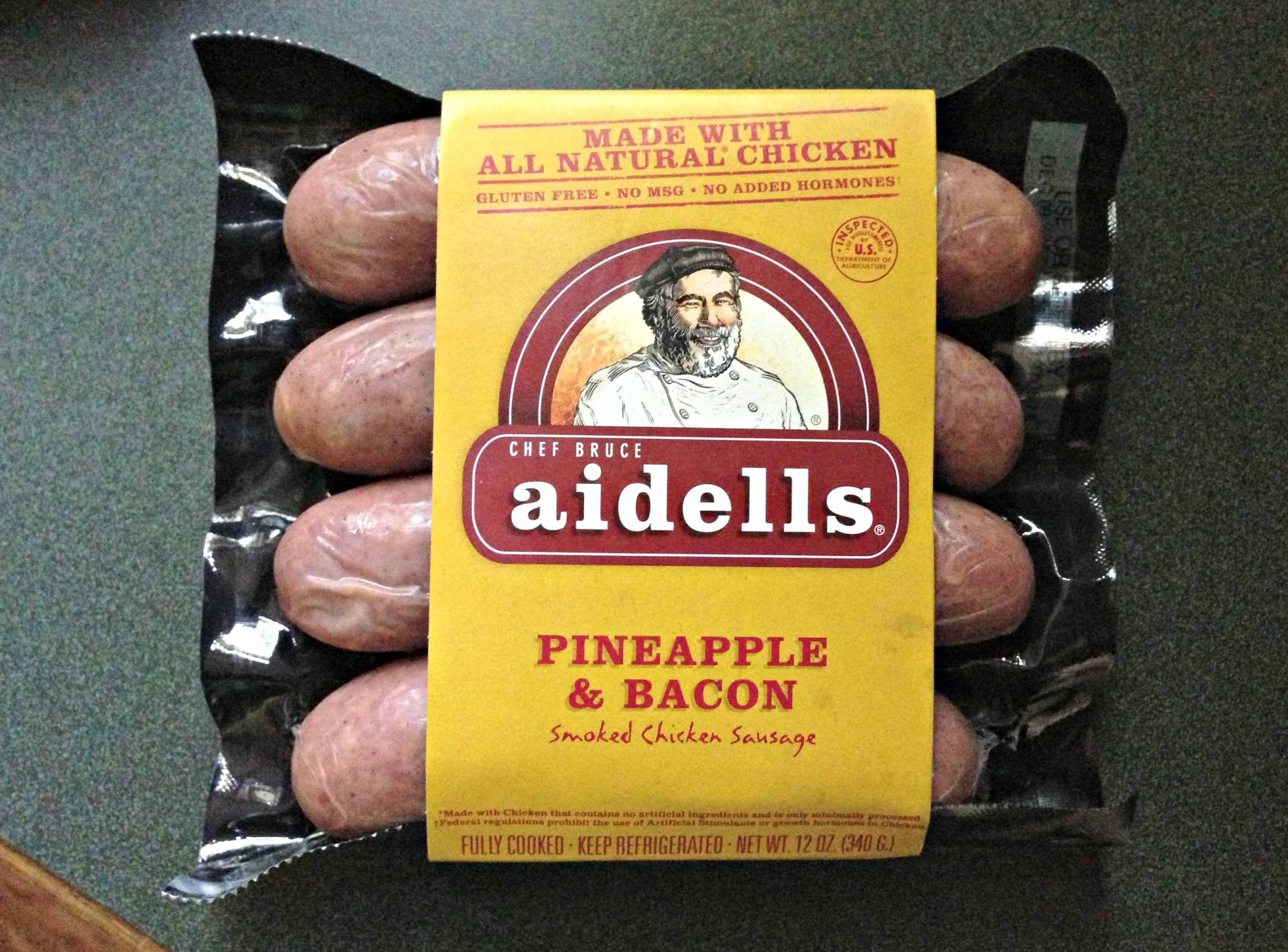 Aidells Pineapple & Bacon c