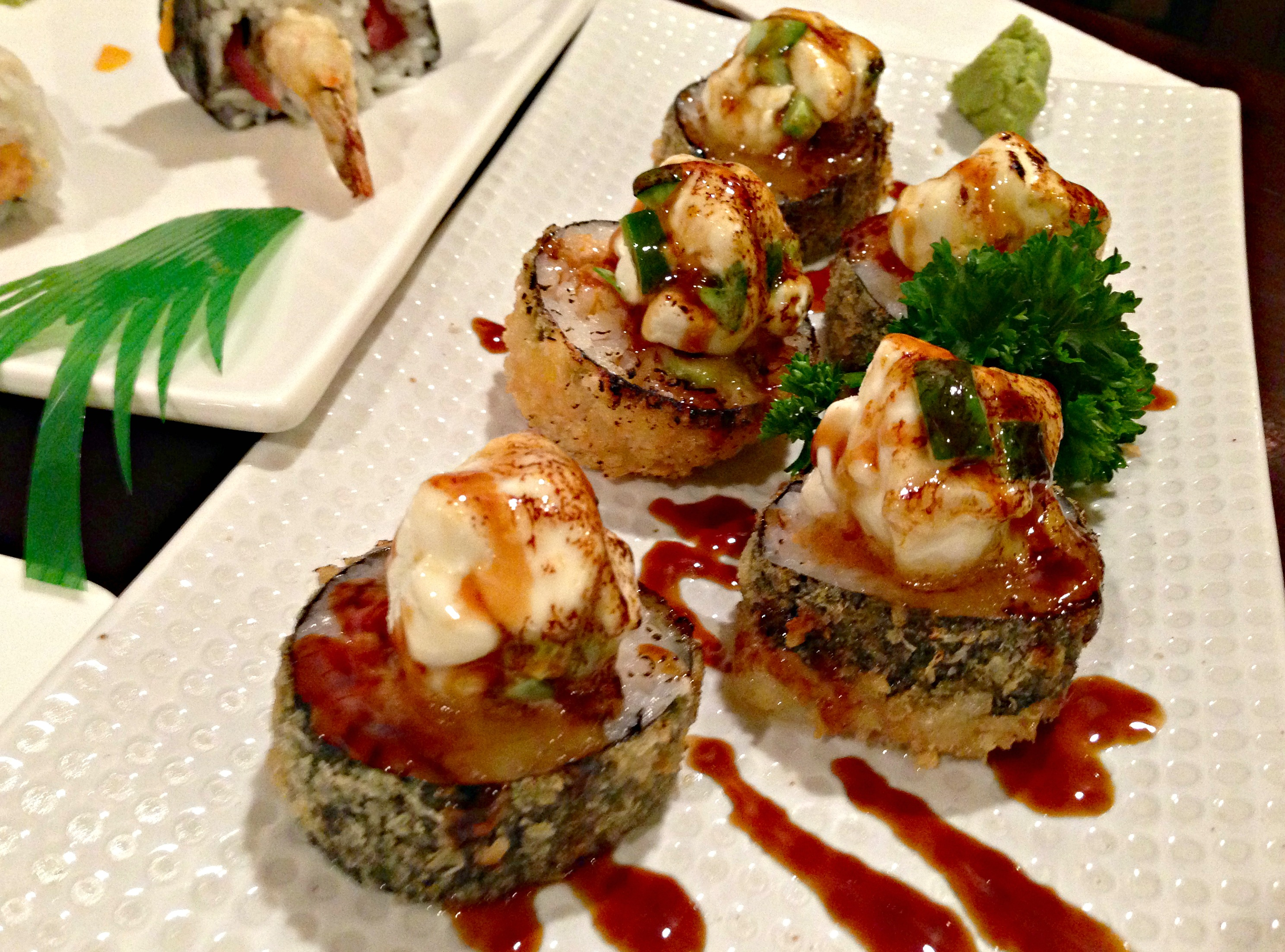 Cheese Ball sushi roll