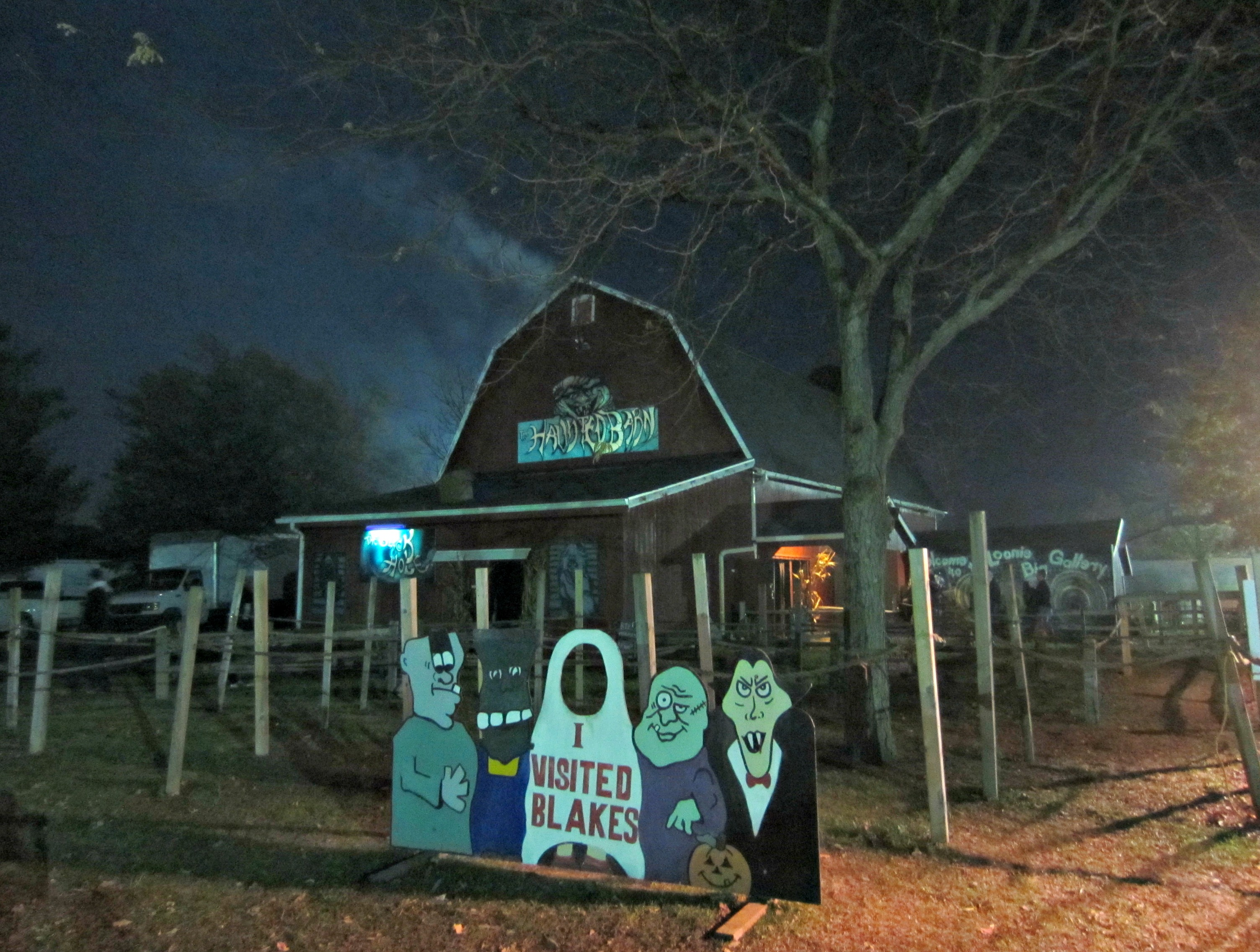 Blakes Haunted Barn
