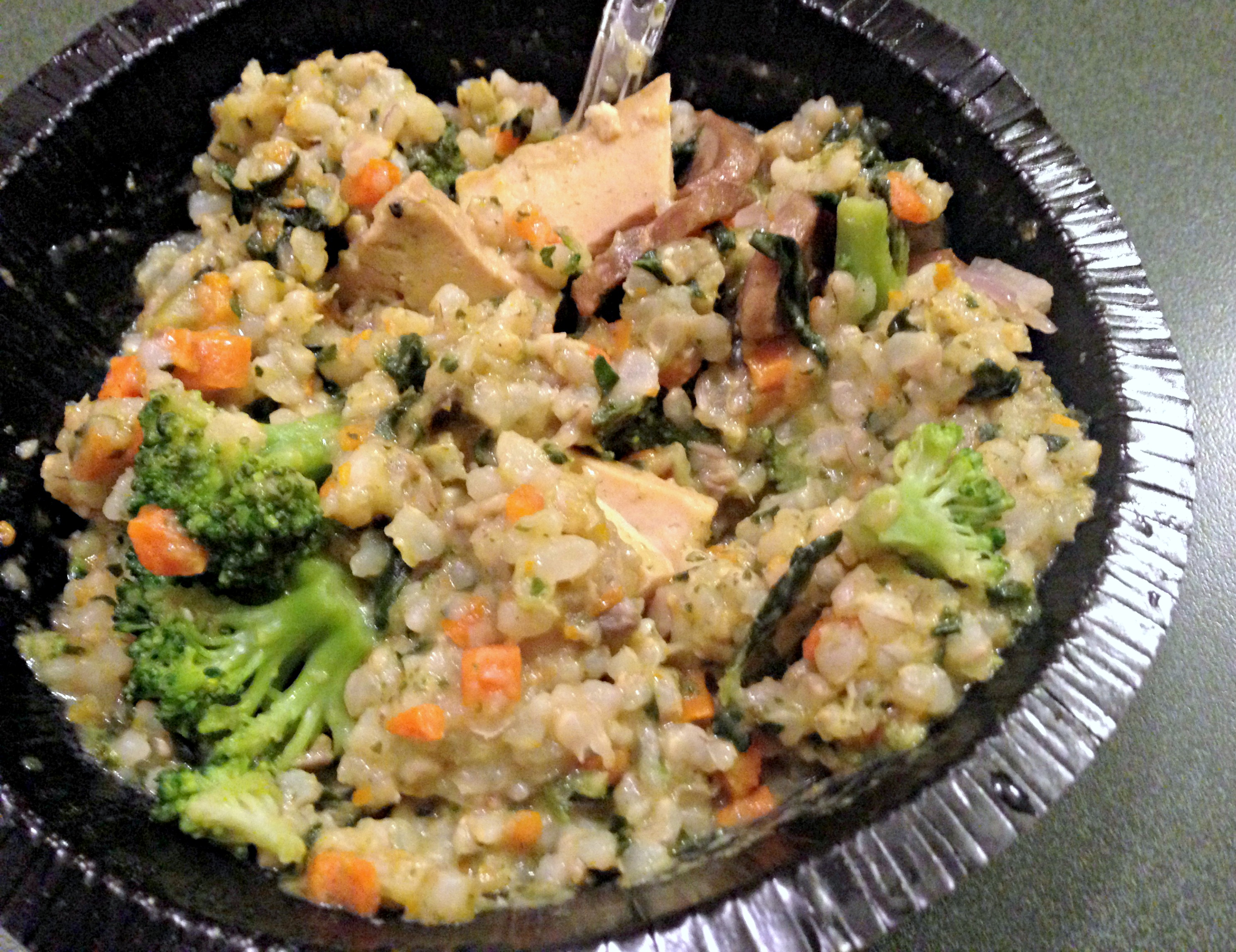 amy's brown rice and vegetables bowl