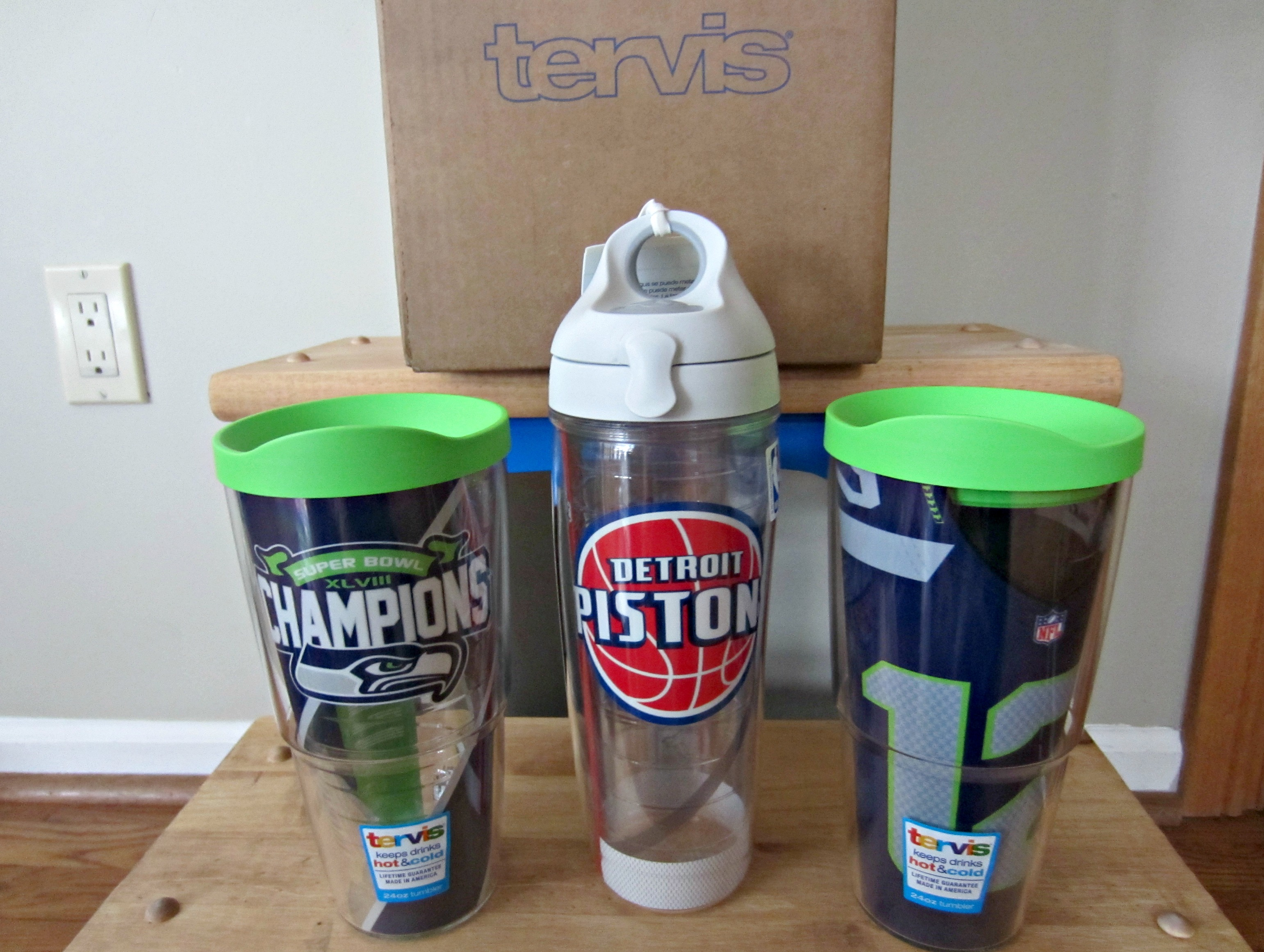tervis tumblers super bowl champions and detroit pistons