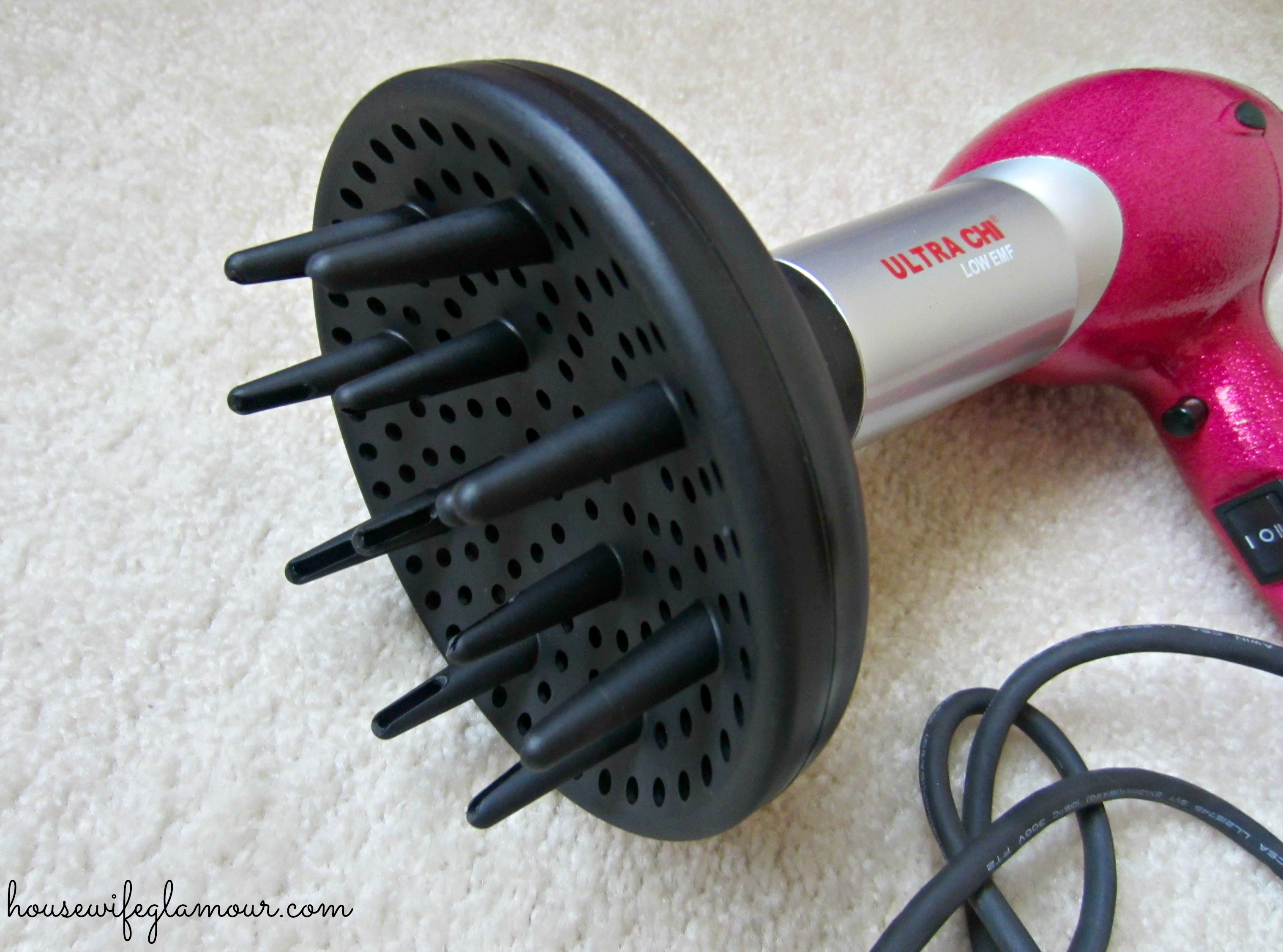 CHI diffuser attachment for curling hair