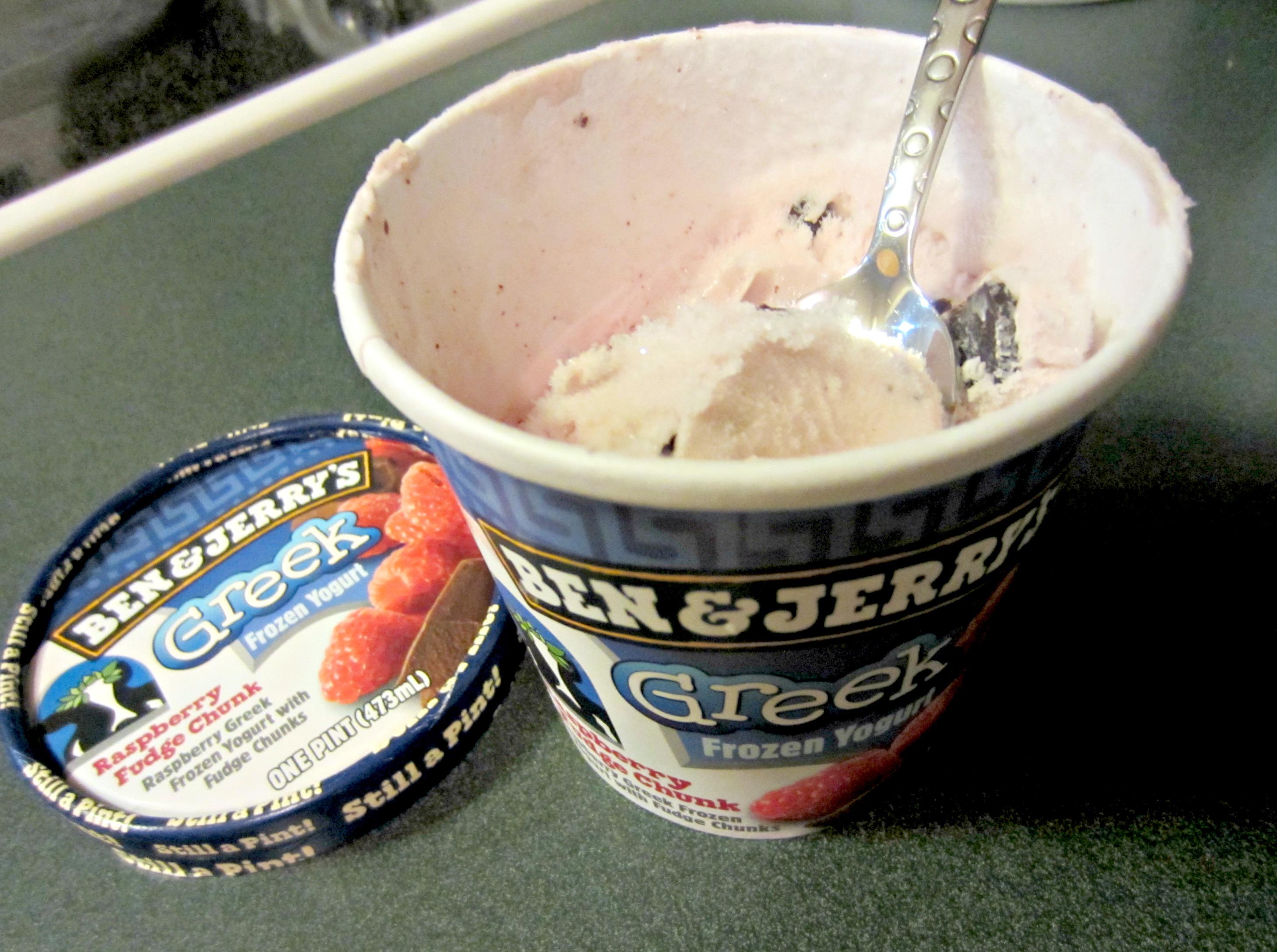 Ben & Jerry's Greek Frozen Yogurt
